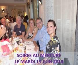 SOIREE 19 JUIN 2018